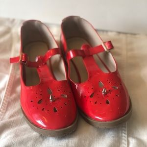 Vintage Red ASOS Mary Jane Shoes